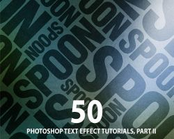 50+ Great Photoshop Text Effect Tutorials, Part II by Designslots