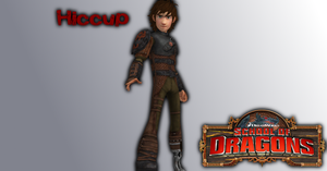 School of Dragons - Hiccup by o0Cristian0o