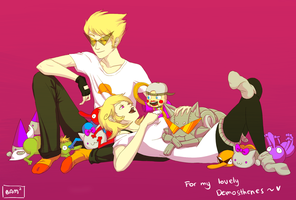 Dirk/Roxy request by Bam-squared