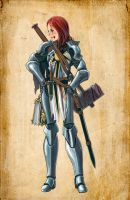 Argent Crusader Miria by lazyseal8