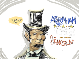 ABRAHAM THE LINCOLN by SkitSTUDIOS