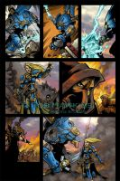Warmachine Comic 3 of 3 by CreationMatrix