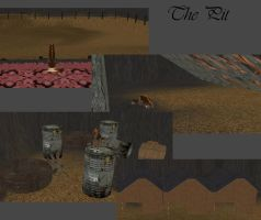 Minimap~The Pit by Silverpaw6