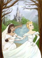 Disney Faberry Princesses by RAblewhite