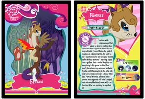 Fawkesequus--Trading Card Ver. by Crpdude