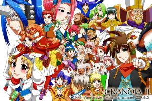 GRANDIA2 10th anniversary by mievol3333