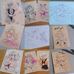August '15 Sketch Dump by chicinlicin