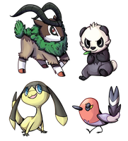 new pokes by Frosti-Kat