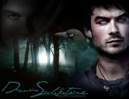 Damon Salvatore by GriiSz