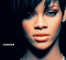 RIHANNA 4 by Ashesteidem-Editions