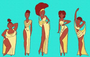 The Muses by Elsie-J