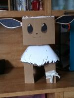 Eevee built from a box by Skyworld828