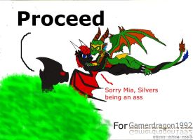 Gamerdragon1992's Request pt1 by silver-wing-mk2