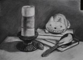 Still Life - Colored Objects by Pockyshark