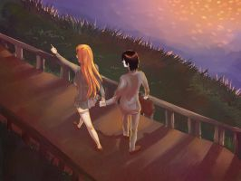 UlquiHime :: 30DayOTPChallenge :: Holding Hands by OrthopedicUnderwear