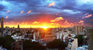 Atardecer Buenos Aires by ddgcom