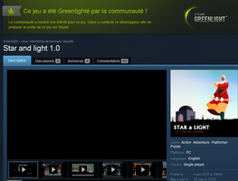 My game star and light 1.0 Greenlighted !! by K-hermann
