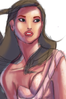 Pocahontas - WIP by UltimateTattts