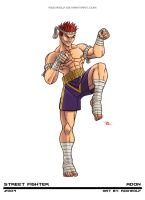Street Fighter - Adon by RodWolf