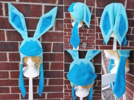 Glaceon Pokemon Hat by akiseo