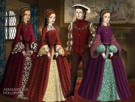 Tudor Children by michaels-lover