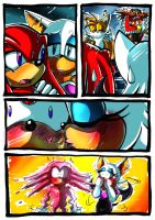 Knuckles And Rouge by darkspeeds