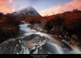 Little Stream - Glencoe by DL-Photography