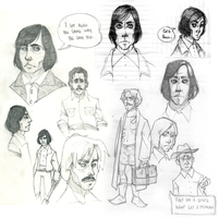 No Country sketchessssss by AgentDax