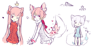 Doodles~ by Seraphy-chan