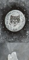 Howling ACEO by vashley