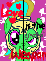 2 Sides of Loveheart (Request) by PaintbrushPonyArtist