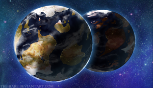The Twin Planets: Updated by The-Hare