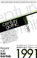 Century Gothic Poster3 by KCCreations