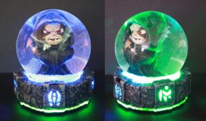 Kaos Snow Globe from Skylanders by kodykoala