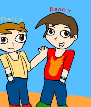 Charlie and Benny (revealed forms) by P250rhb2