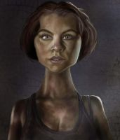 Maggie, The Walking Dead by jonesmac2006