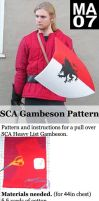 SCA Gambeson Pattern by MedievalCommunity