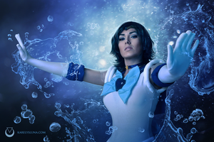 Sailor Mercury by LunaVelobeth