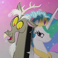 Discord x Celestia by Golden-Freddy-1337