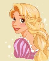 Happy Birthday Rapunzel by WishAndDream