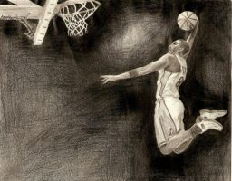 Basketball Player by HuanBao