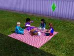 Sims 3 - Beauregarde Girls and I have a picnic vid by Magic-Kristina-KW