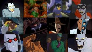 The Rogues Gallery by BTAS