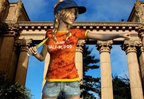 Heroes of Olympus - Annabeth Chase by JaidanWolf