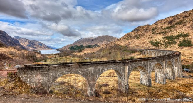 The Glenfinnan Viaduct 170 13a by Haywood-Photography
