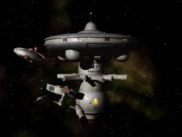 Starbase Vanguard by davemetlesits