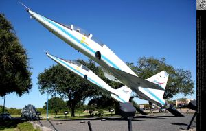 T-38 Talon Space Shuttle Escort Jet by DamselStock
