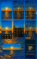 Ocean Sunset Go Launcher Ex by gseth