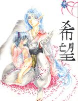 Sesshomaru And Rin by Meiphon