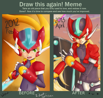 What a difference a year makes lolol by MrAmakat